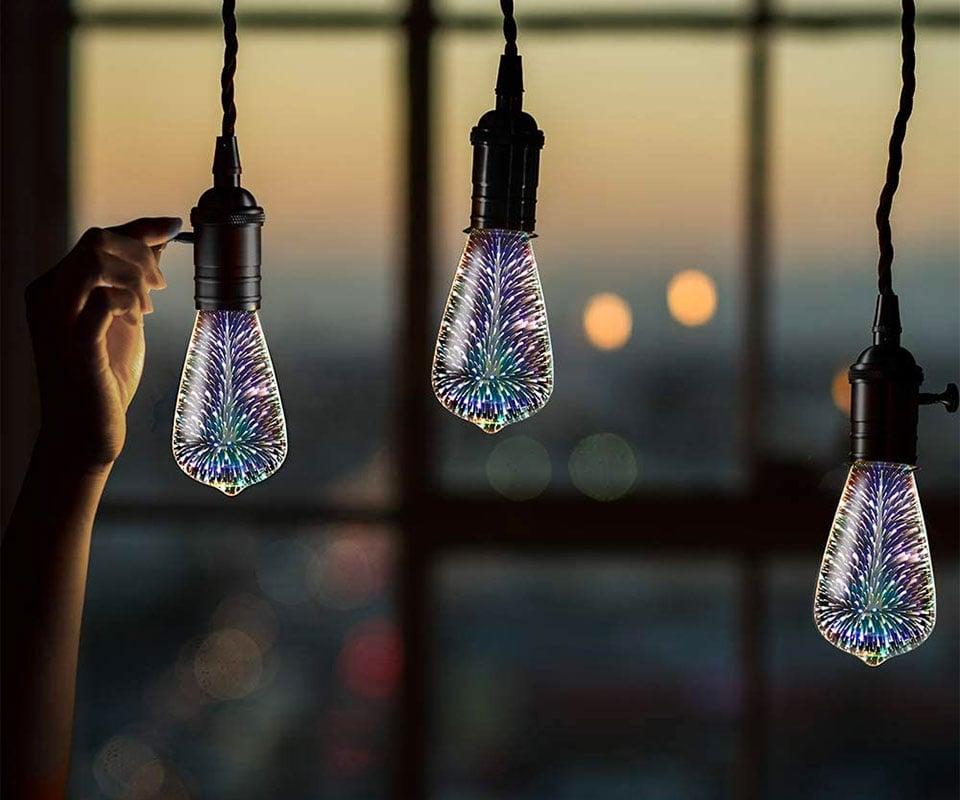 Infinity Fireworks Effect LED Bulb