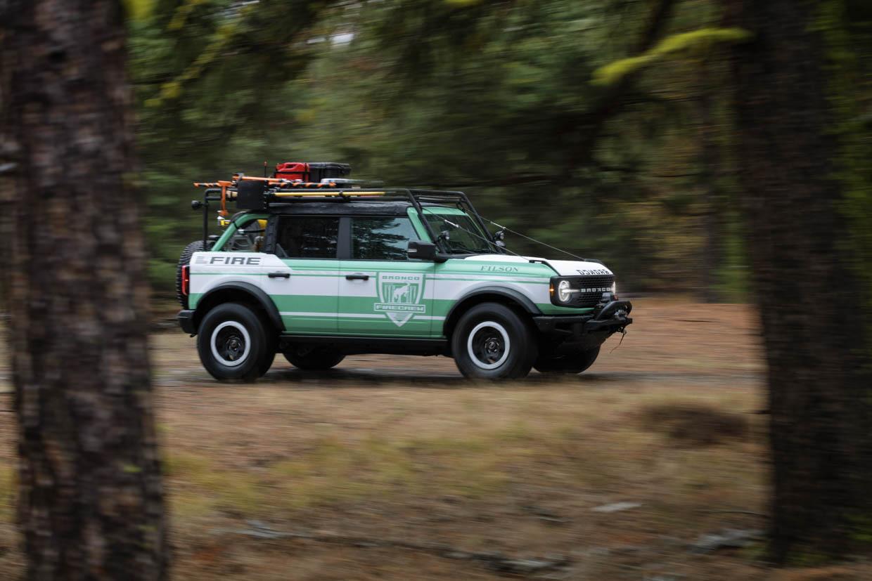 2021 Ford Bronco + Filson Wildland Fire Rig Concept