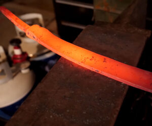 Forging a Machete from a Lawnmower Blade