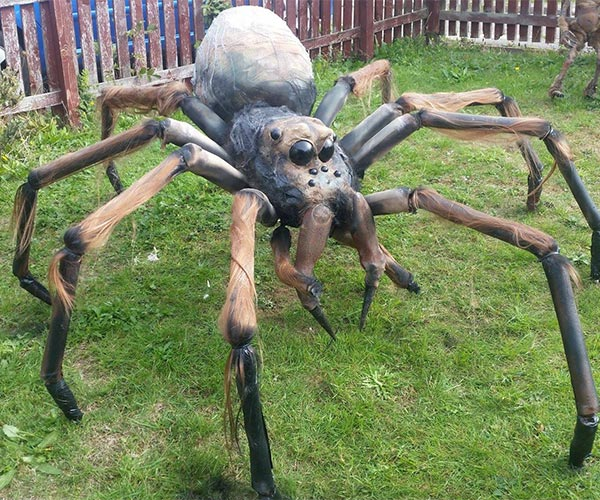 How to Build a Giant Spider