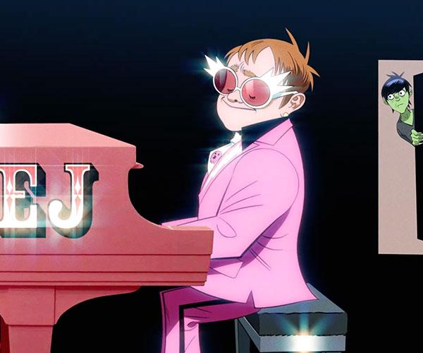 Gorillaz f/Elton John + 6LACK