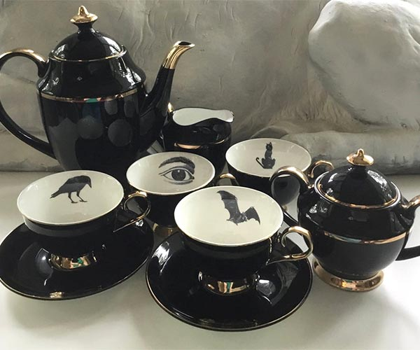 Gothic Tea Party Set