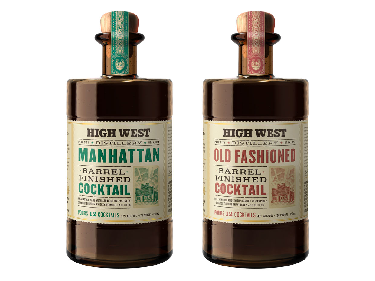 High West Barrel-Finished Cocktails