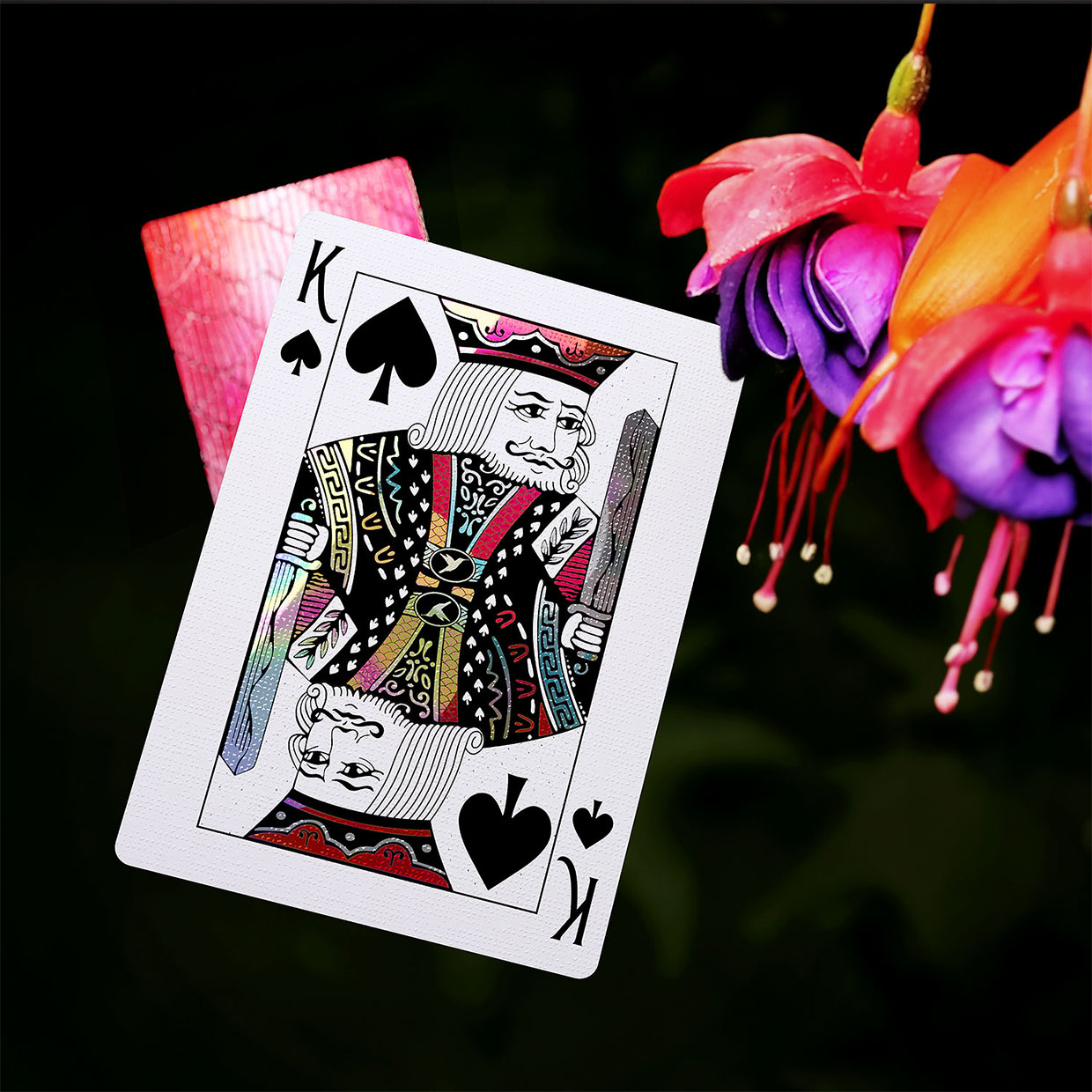Hummingbird Feathers Playing Cards