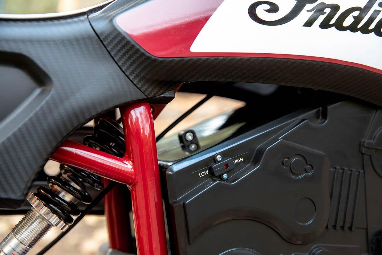 Indian eFTR Jr. Electric Mini-Bike