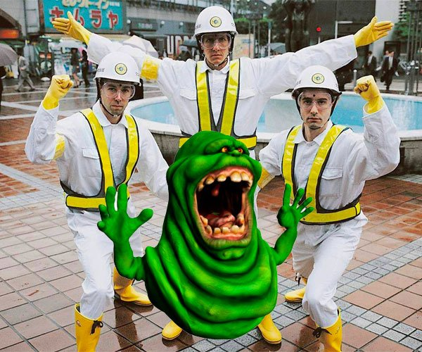 Intergalactic Ghostbusters