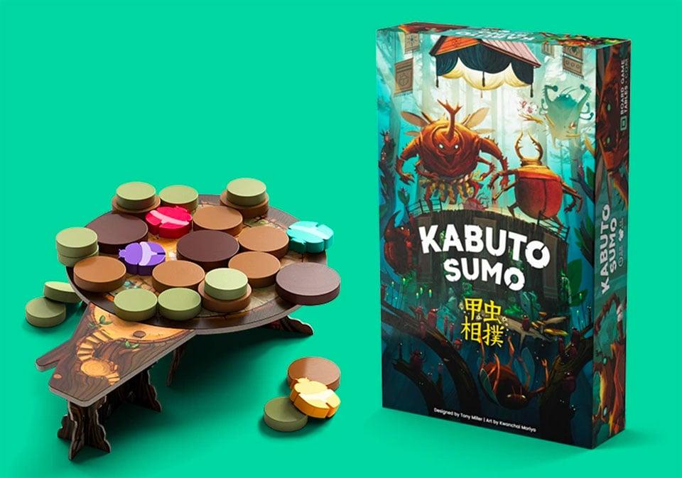 Kabuto Sumo Board Game
