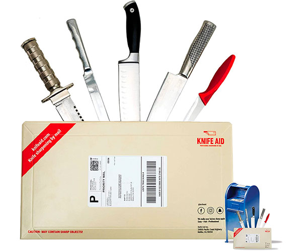 Knife Aid Knife Sharpening Service