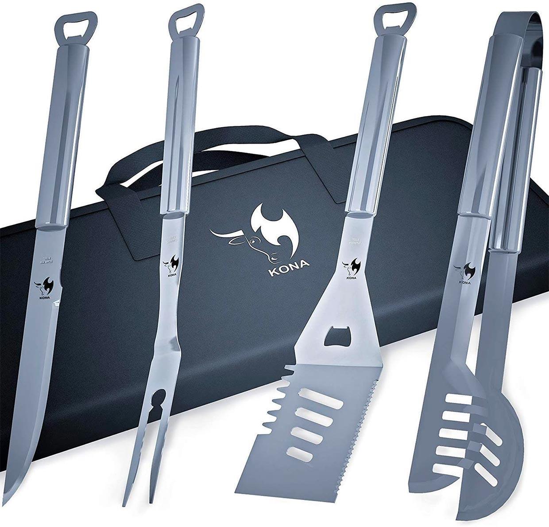 Kona BBQ Grill Tools Set