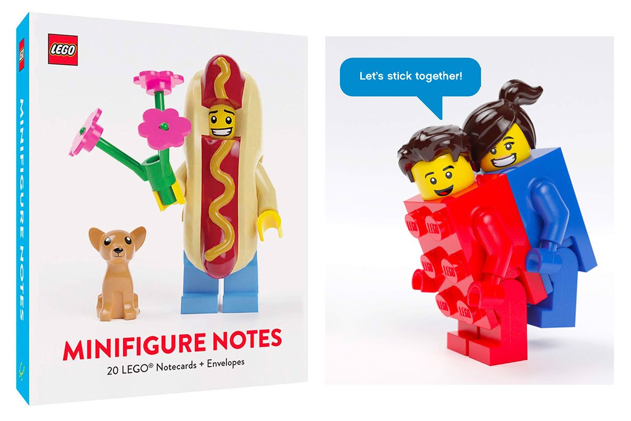 LEGO Minifigure Note Cards