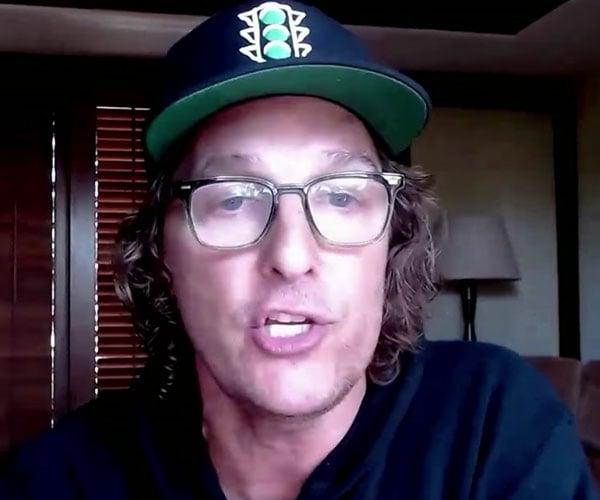 McConaughey's American Pep Talk
