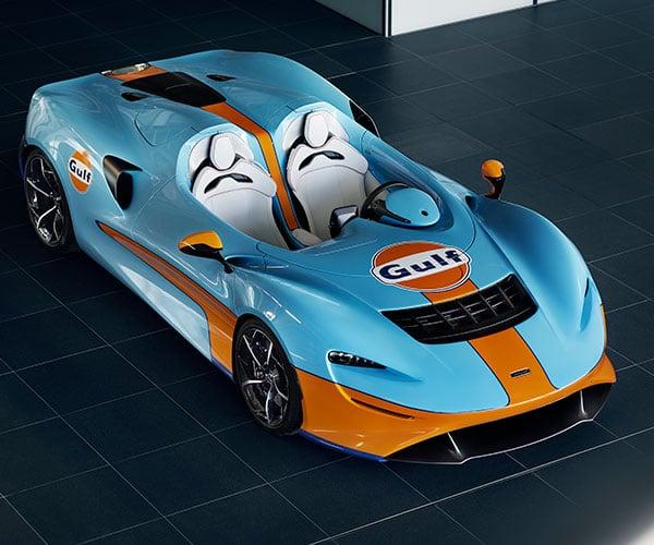 McLaren Elva Gulf Livery