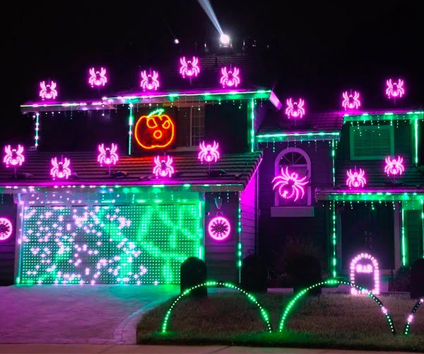 Metallica Halloween Light Show