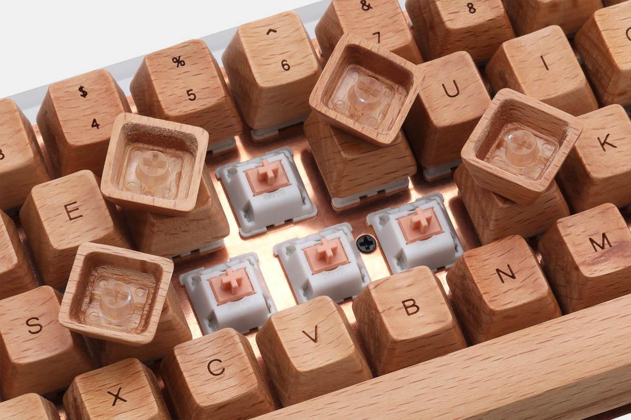 NPKC Engraved Wooden Keycaps