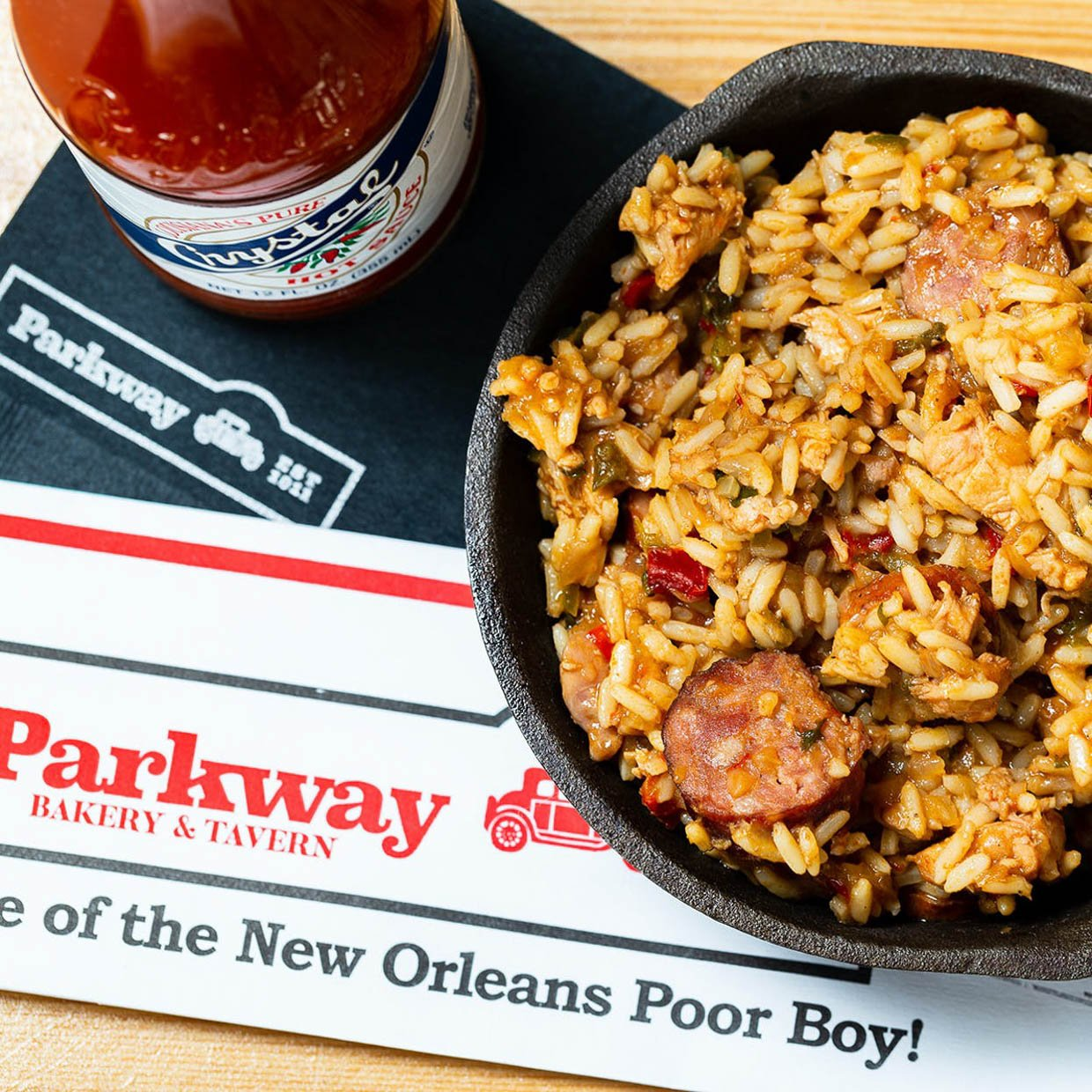 Parkway Po' Boys at Home