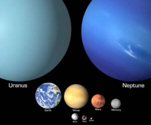 Solar System Object Comparison