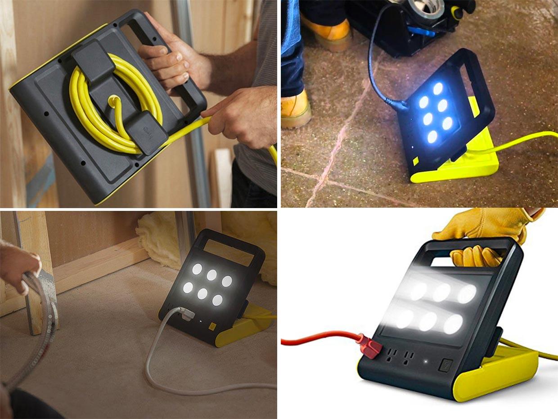 Deal: Powershell Folding LED Work Light