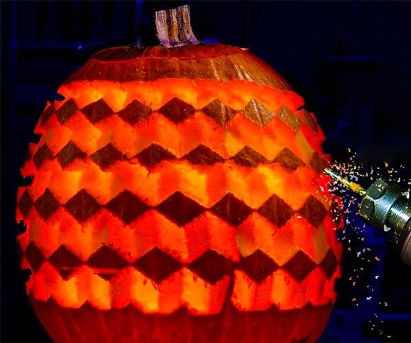 Robot Pumpkin Carver