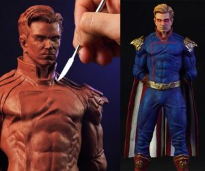 Sculpting Homelander