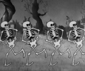 The Skeleton Dance 4K Remaster