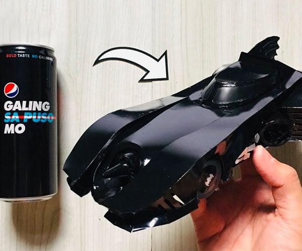 Soda Can Batmobile