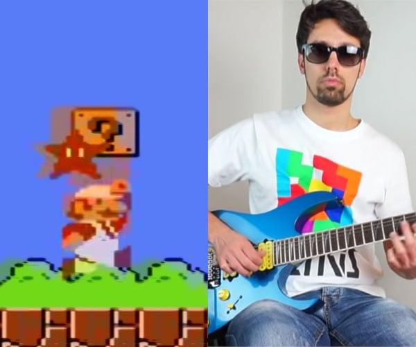Super Mario Guitar Sounds
