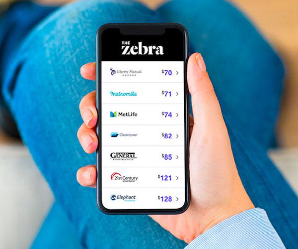 The Zebra Car Insurance Shopping