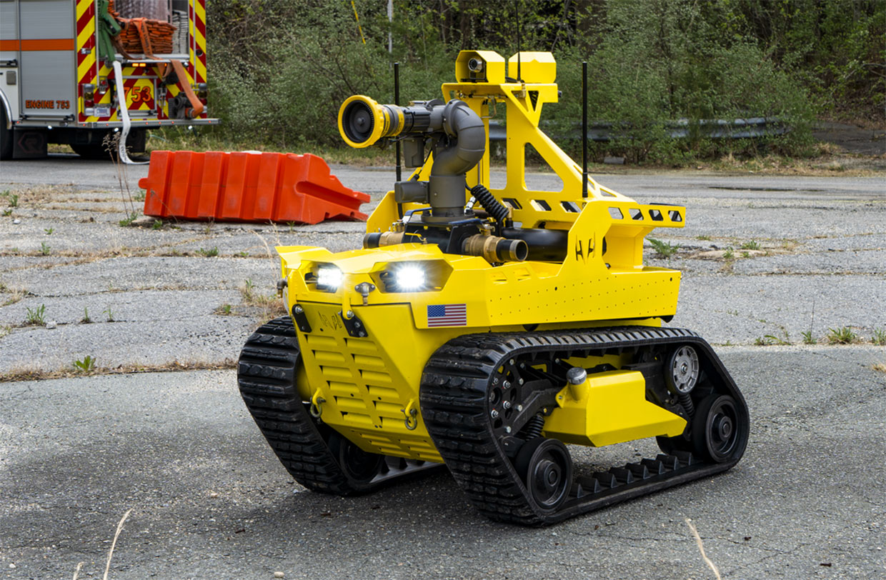 Thermite Firefighting Robots