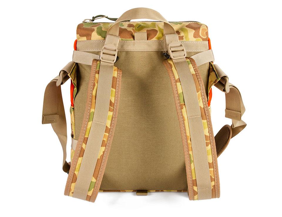 Topo Designs x Nanga x Natal Camo Rover Shoulder Pack