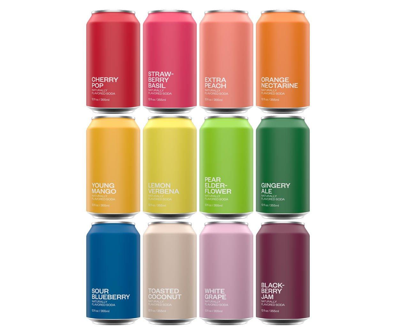 United Sodas Rainbow Variety Pack