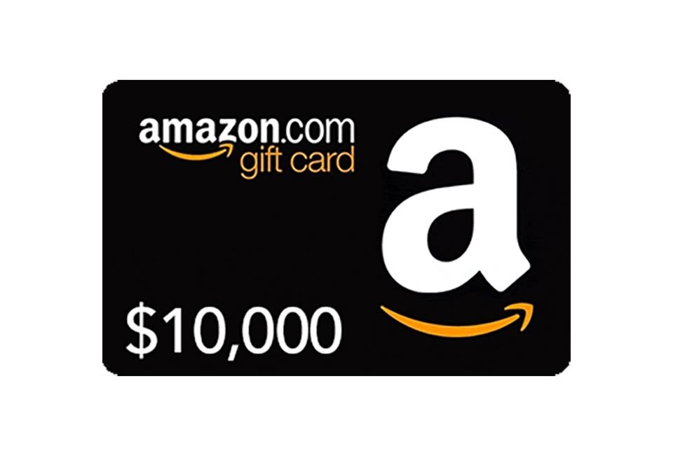 Win a $10,000 Amazon Shopping Spree
