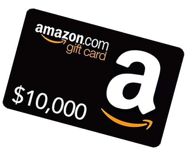Win a $10,000 Amazon Shopping Spree