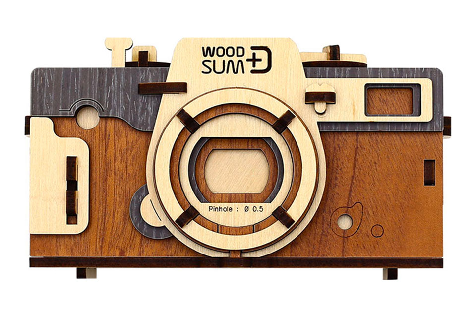 Wood Sum Pinhole Camera Kit