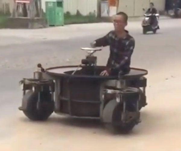 3-Wheeled Spinny Car