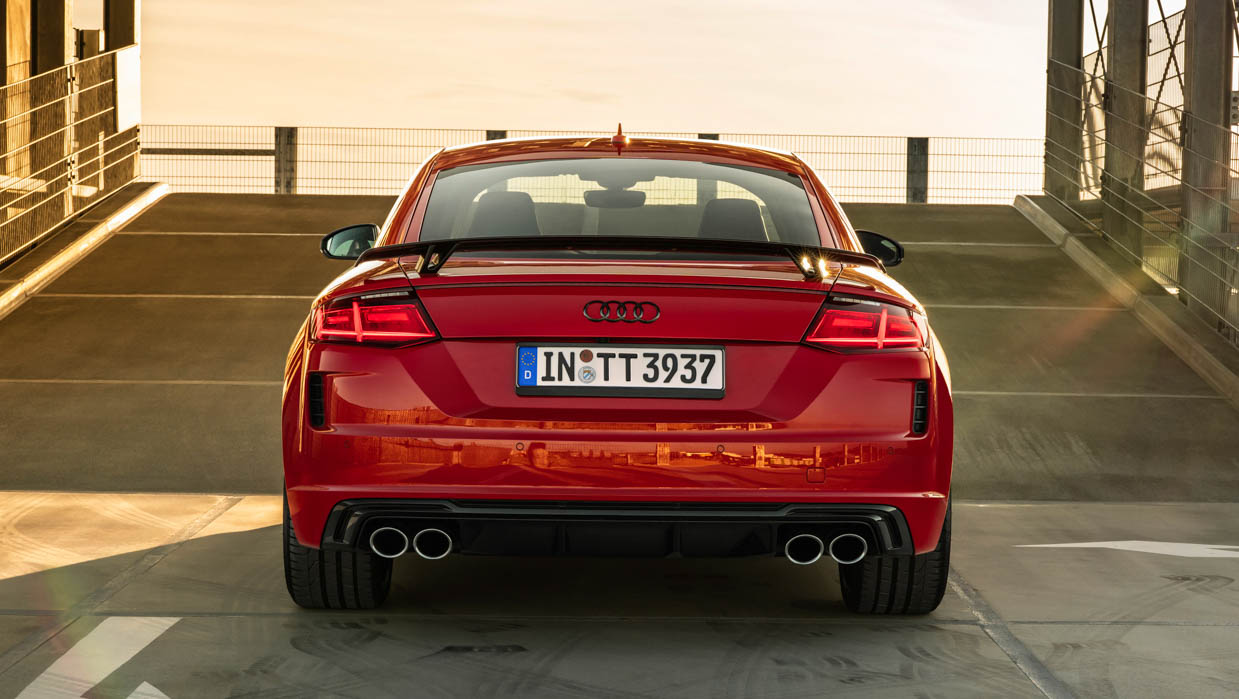 2021 Audi TTS Competition Plus