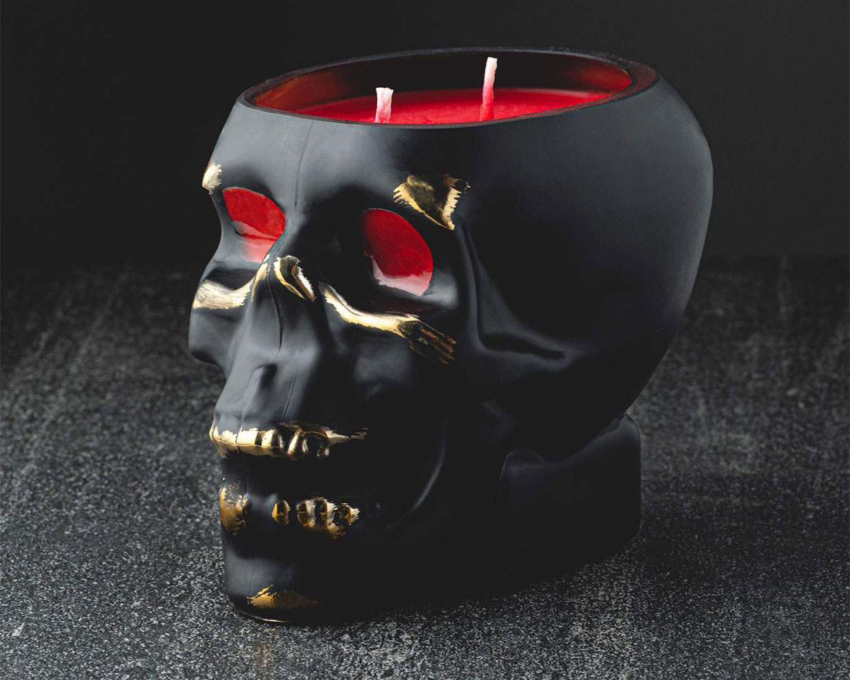 Badass Skull Candles