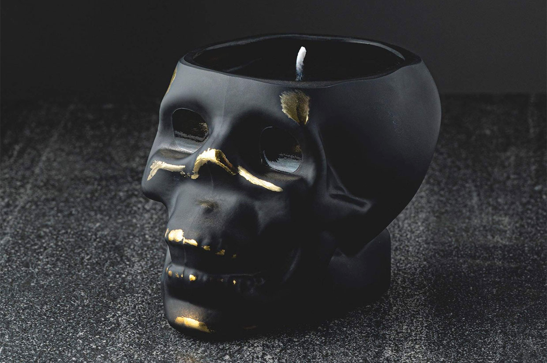 Badass Skull Candles