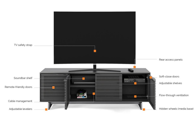 BDI Media Cabinets