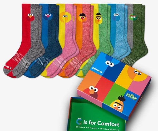 Bombas x Sesame Street Socks