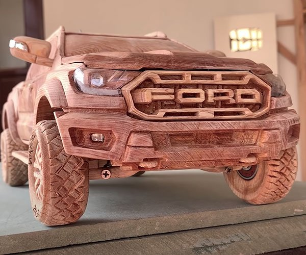 Carving a Ford Ranger Raptor