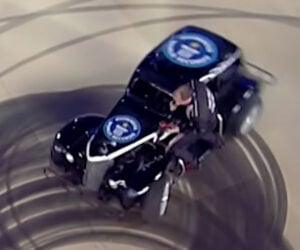Changing a Tire on a Spinning Car