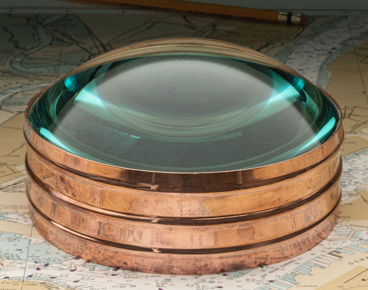 Copper Ring Magnifier