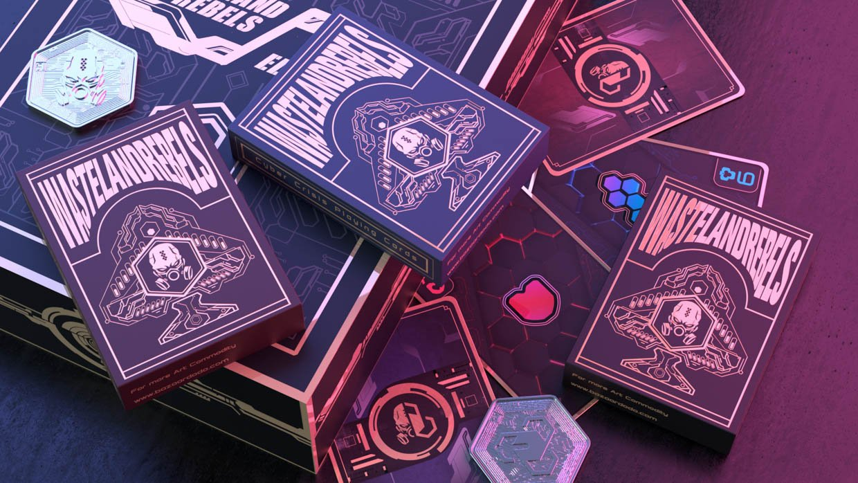 Cyber Crisis Playing Cards