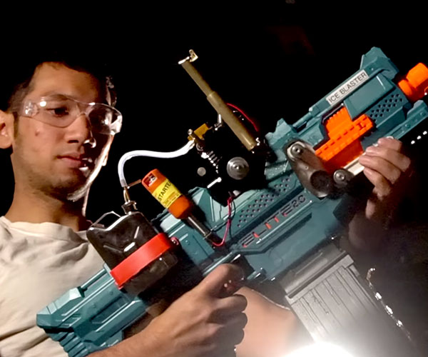 Making a Gas-powered NERF Blaster