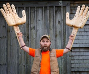 Making Giant Articulated Hands