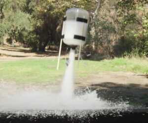 Fun with Baking Soda Rockets