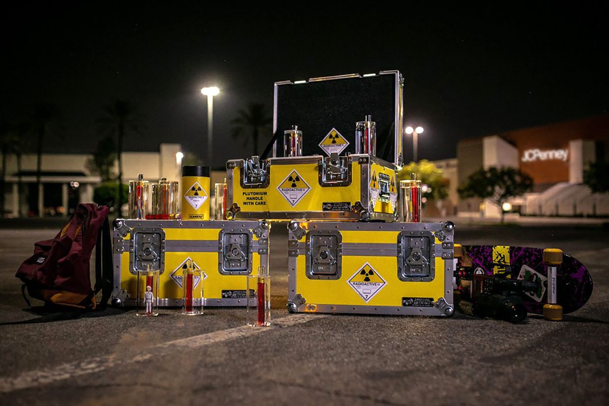 "Gonk Toys x Anvil ""1.21 Gigawatts"" Plutonium Case"