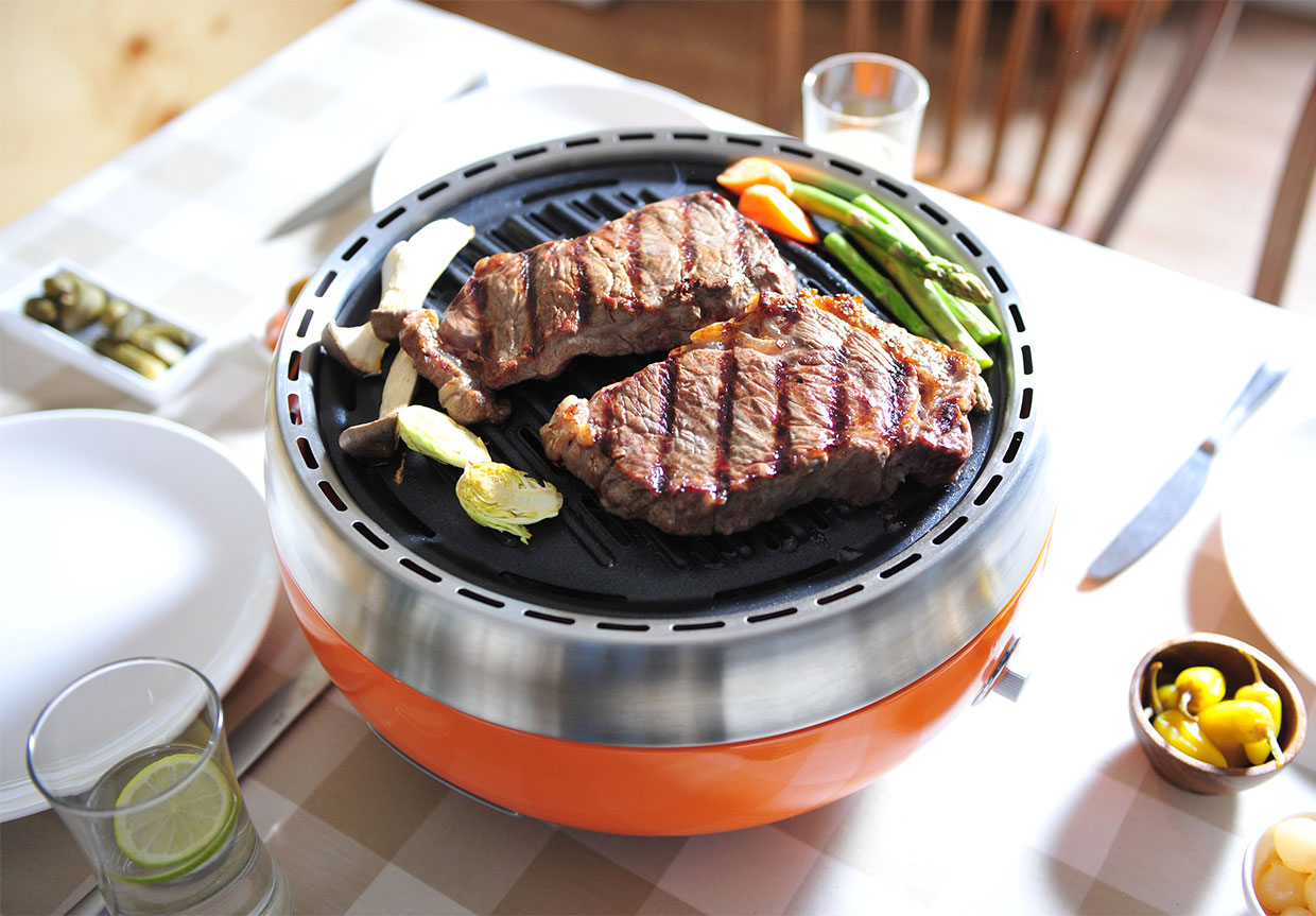 Homping Portable Charcoal Grill