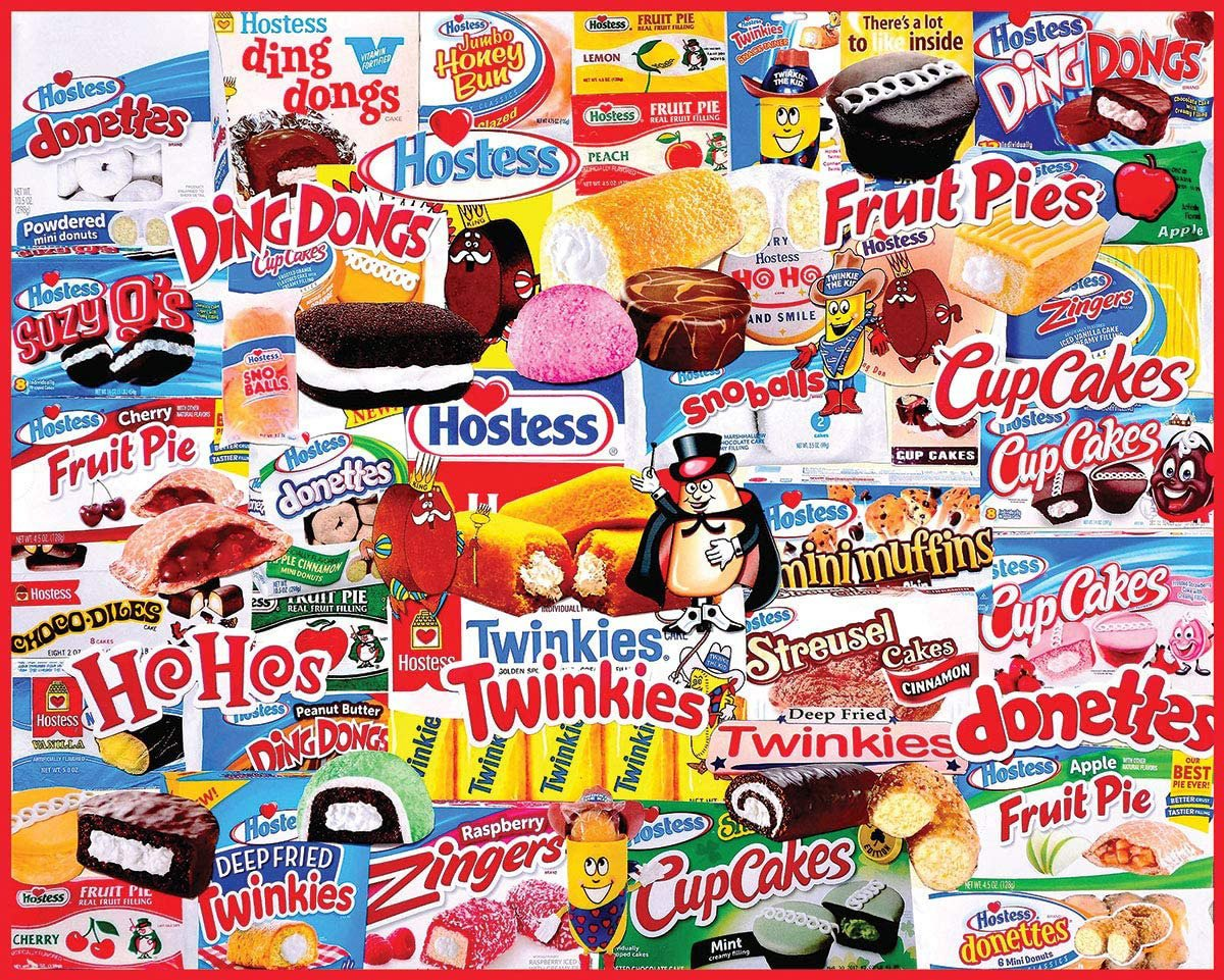 Hostess Snack Cakes Puzzle
