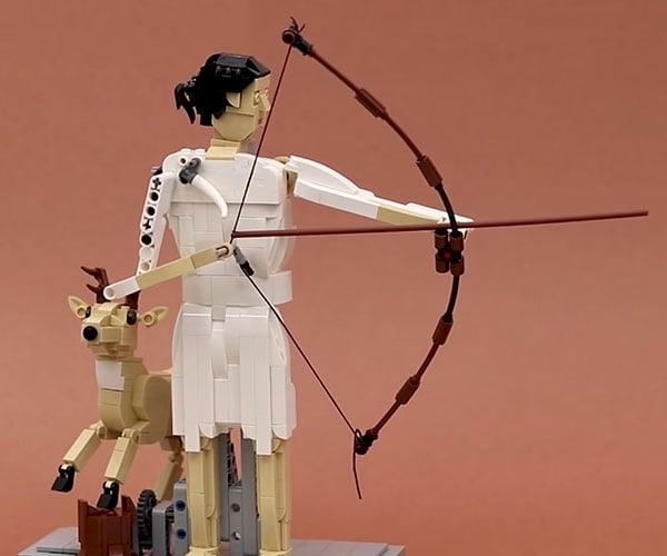 LEGO Archer Automaton